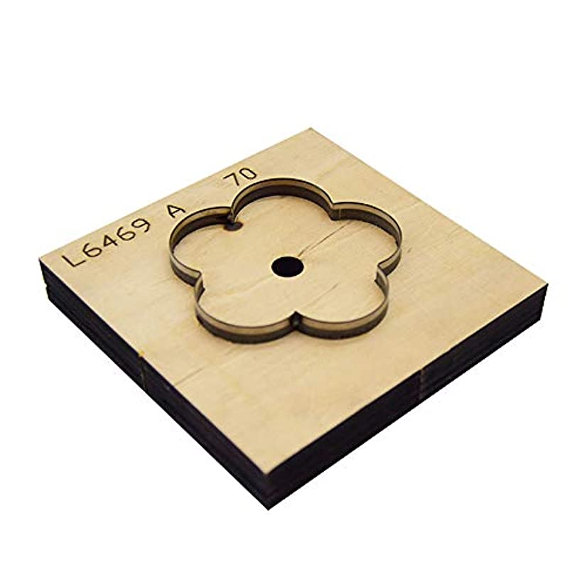 BOERNISEN Flower Cutting Dies - DIY Scrapbooking Tools,Cutting Dies-DIY Leather Cutting Mold-Can be Used for Leather, Cloth, Paper, etc. The Cut Flower Size is About 30mm