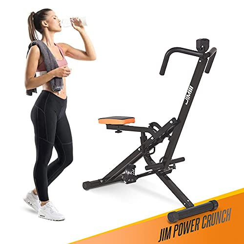 JIM Fitness Total Power Crunch, BLACK