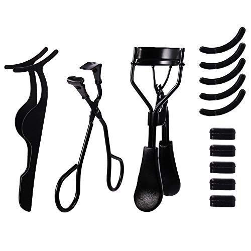 atnight Eyelash Curler, 3-in-1 mini eyelash curler kit with partial eyelash curler, eyelash...