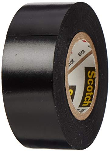 3M Scotch Super 88 Elektro Isolierband, Vinyl, schwarz, 19 mm x 6 m