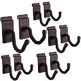 Hold Up Displays - Slat Wall Horizontal Gun Rack Storage and Shotgun Hooks Store Any Rifle Shotgun and Bow - Heavy Duty Steel - Made in USA (5 Pack)