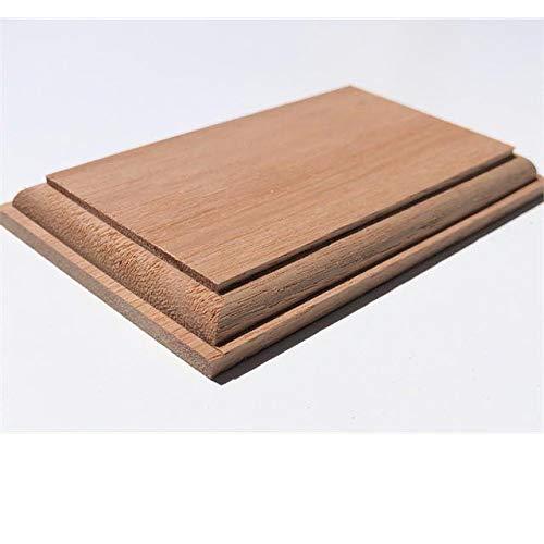 木製飾り台 長方形 ユーカリ 10mmX60mmX100mm P72