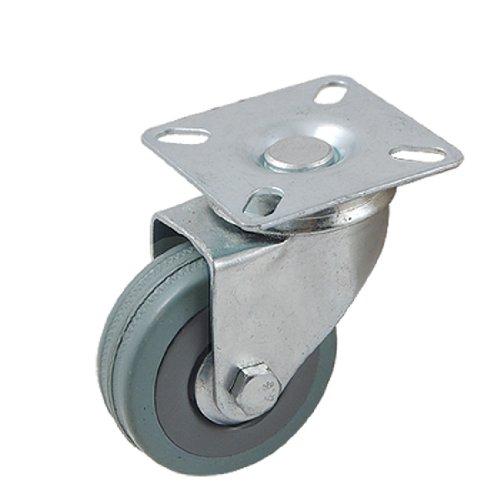 Aexit grau Schleif-, Schrupp- & Trennmaterial 5,1cm Durchmesser Einzel Rad Dreh Typ, Duty Scheiben für Außenrundschleifmaschinen Caster Roller
