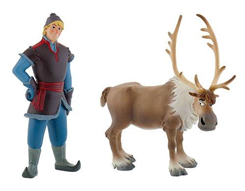 Bullyland 13062 - Spielfigurenset - Walt Disney La Reina de Hielo, Totalmente descarada - Mini y Mini Kristoff Sven