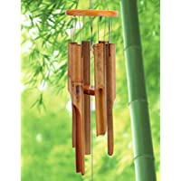 Afirst Wooden Bamboo Wind Chimes with Amazing Deep Tone