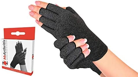 Doctor Developed Compression Glove Handbook Hand Support to Prevent Injury in Workout Weightlifting product image