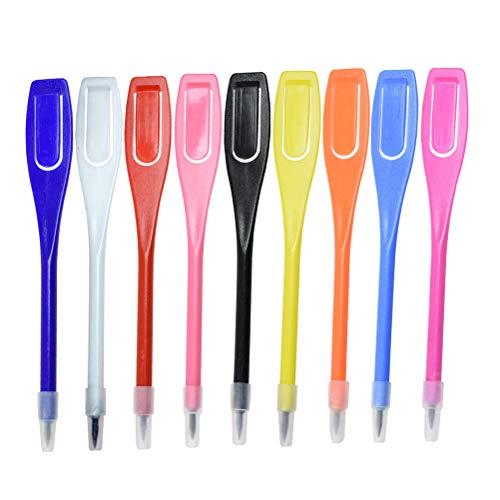 LIOOBO 50pcs Stylo marqueur de Golf en Plastique Effacer écrit écrit marquer Crayon marqueur...