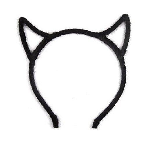 Élégant bandeau de cheveux bande Hairband pour les femmes, Noir