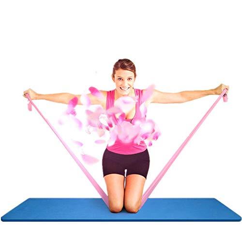 HWWGG Yoga Tension Belt Elastic Belt Fitness Men and Women Resistance Belt Strength Training Tension Belt Latex Tension Rope Tension Piece