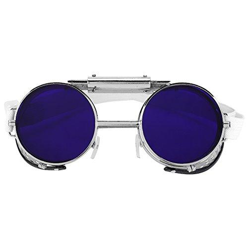 Almohadillas de seguridad delanteras abatibles Gafas protectoras para el trabajo Protección doble para los ojos para soldar Soldadura Soplete Soldadura fuerte Corte de metal