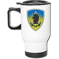 Taza de viaje aislada de acero inoxidable del ejército de los Estados Unidos con tazas de carga de tapa Taza de café aislada