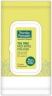 Toallitas húmedas para acné Thursday Plantation Tea Tree
