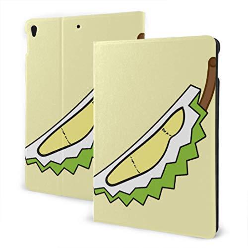 Funda para iPad 2019 iPad Air3 / 2017 iPad Pro Funda de 10,5 Pulgadas / 2019 iPad 7th Funda de 10,2 Pulgadas Delicious Prickly Food Durian iPad Girl Cover Auto Wake/Sleep