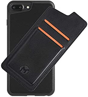 Mega Tiny Corp Anti Gravity Phone Case Compatible for iPhone   Hands Free Selfie   Nano Suction   Stick to Wall   Includes Wallet Back Cover (8 Plus / 7 Plus / 6s Plus / 6 Plus - 5.5 inches)