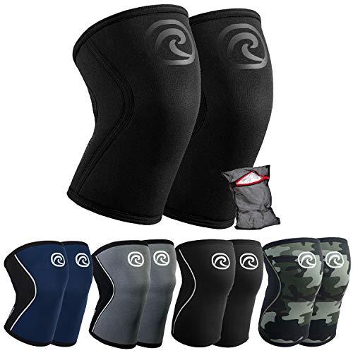 Ziatec Rehband Kniebandage Athletic Edition Wäschenetz, Größe:S - 1 Paar, Farbe:Carbon