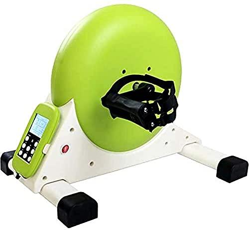 ZHZHUANG Máquina de Rehabilitación, Mini Ejercicio Bike Pedal Ejercitor Brazo Y Ciclo de Pierna Ejercicio Bicicleta de Resistencia Ajustable con Pantalla Lcd
