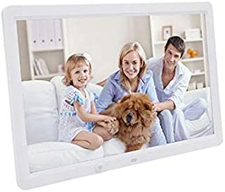 15 Inch LED Backlight HD 1280 * 800 Full Function Digital Photo Frame Electronic Album digitale Picture Music Video -White