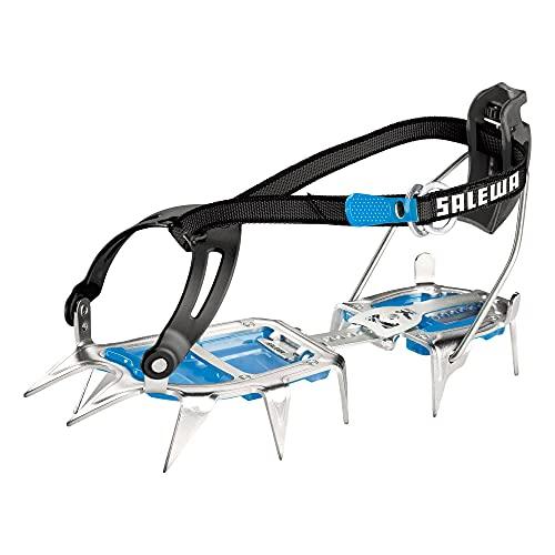SALEWA Unisex Steigeisen Alpinist Combi, Steel/Blue, One Size