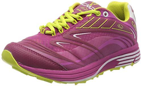 CMP – F.lli Campagnolo Maia Wmn Shoes, Scarpe da Trail Running Donna, Rosa Geraneo H820, 40 EU