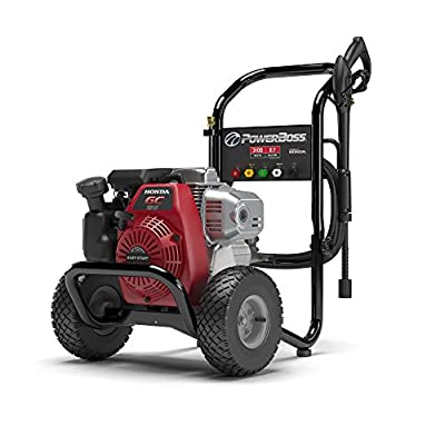 PowerBoss Gas Pressure Washer with 30-Foot Hose