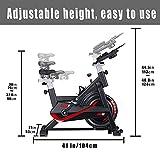 Zoom IMG-1 canmalchi bici da spinning regolabile