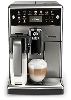 Saeco PicoBaristo Deluxe SM5573/10 - Máquina espresso automática de acero inoxidable con jarra de leche y botones táctiles (B079DC5S87) | Amazon price tracker / tracking, Amazon price history charts, Amazon price watches, Amazon price drop alerts