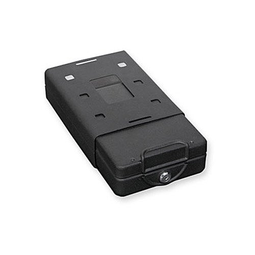 Bulldog Cases Car Safe with Key Lock, Mounting Bracket and Cable in Black