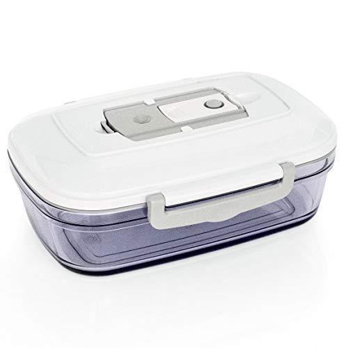 ROMMELSBACHER MAGIC VAC VCC 100 Vakuumierbehälter Kolibri (1 Liter, spülmaschinengeeignet, Lagerung im Tiefkühler bis -18°C, geeignet für Backofen und Mikrowelle)