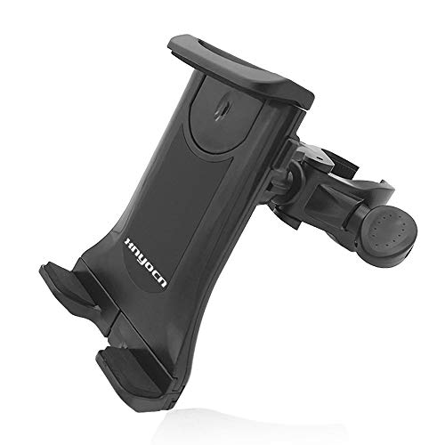 CMING Universal Bicycle Handle Tablet Phone Holder Motorcycle Holder Handle Car Mount Holder Cradle (Color : Black)