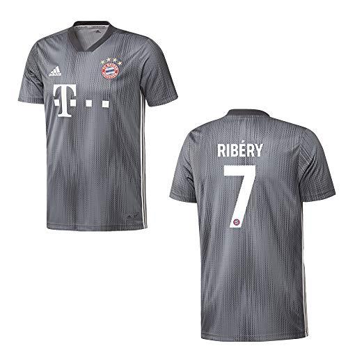 adidas Bayern Trikot 3rd Herren 2019 - Ribery 7, Größe:M