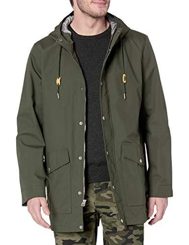Levi's Men's Performance Cotton Fishtail Parka Jacket, Olive, Large