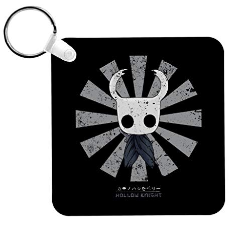 Cloud City 7 Hollow Knight Retro Japanese Keyring