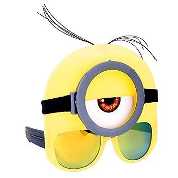 Sun-Staches Costume Sunglasses Stuart Minion Goggle Party Favors UV400 one-Size  77618