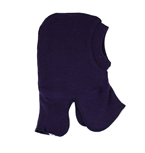 CeLaVi Balaclava-Coloured Wool Bonnet, Bleu-Bleu (Bleu Marine foncé), 0 cm Bébé garçon