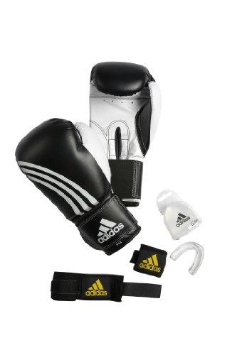 adidas Boxing Set Basic, Schwarz, one size
