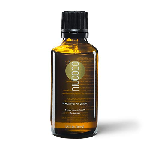 NIUCOCO | All-Natural Renewing Coconut Oil Hair Serum | 100% Non-Toxic | Styling Oil (50ml)