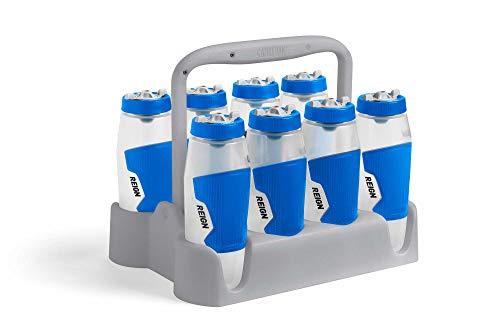 CamelBak Reign - Portabidones para 8 botellas, color gris, tamaño talla única, 29.2 x 30.5 x 38.1inches