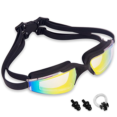 JEFlex Swimming Goggles Leak-Proof Anti-Fog UV Protection Unisex