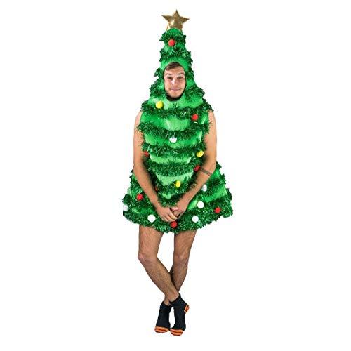 Bodysocks Fancy Dress Disfraz de Árbol de Navidad para Adultos