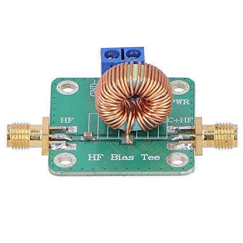 RF DC Block Bias Tee SMA-K Conector 0.2-180MHz DC Bias Tee Module 30V 3A RF Módulo PCB RF Módulo de señal de microondas para antena de amplificador de radio