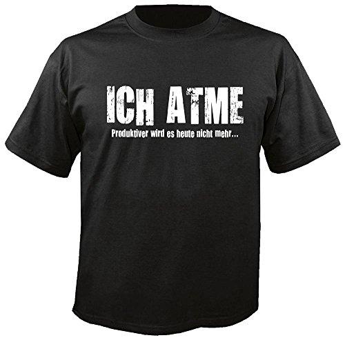 Ich Atme - Fun - T-Shirt Größe 3XL
