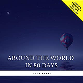 Around the World in 80 Days                   By:                                                                                                                                 Jules Verne                               Narrated by:                                                                                                                                 Michael Scott                      Length: 6 hrs and 33 mins     7 ratings     Overall 3.3