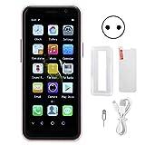 Kafuty-1 Teléfono móvil de 3.49 Pulgadas para Estudiantes Mayores Teléfono móvil 4G 3 + 32G Teléfono Inteligente de Doble Modo de Espera con Doble Tarjeta 100-240V(Enchufe de la UE)