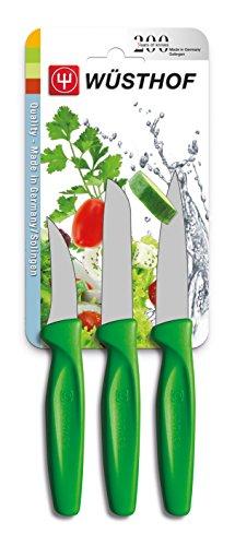 Wüsthof TR9332G Colors Set de 3 Couteaux avec Manche Vert
