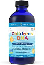 Nordic Naturals Children's DHA, Orange - 8 oz - 530 mg Omega-3 with EPA & DHA - Brain Development & Function - Non-GMO - 96 Servings