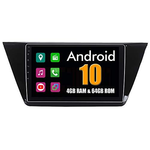 RoverOne 10,2 Pouces Système Android Octa Core pour Volkswagen Passta Magotan 2015 2016 2017 Autoradio Système stéréo avec Radio Navigation GPS Bluetooth Mirror Link écran Tactile