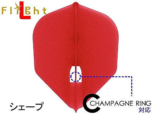 L-style フライトL レッド/SHAPE・シャンパンリング対応