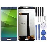 Pantalla móvil Pantalla LCD y digitalizador Asamblea Completa for Elephone S7 (Negro) (Color : Blue)