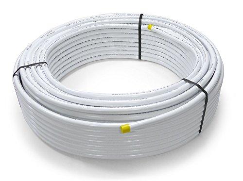 1 Meter Aluminium Mehrschichtverbundrohr 16 mm x 2 mm, Zuschnitt auf Wunsch, Alu-Rohr, DVGW zertifiziert
