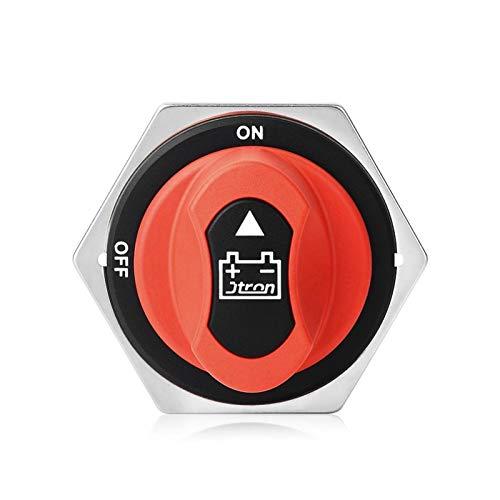 Interruptores y relés automotrices Alto Rendimiento para el Interruptor de la batería del automóvil de JTRON 12V 200A / 300A / 100A / 50A Motorcycle 32VDC MAX ON-Off 2P SPST Coche Mini Interruptor de
